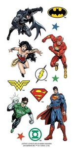 DC Comics Girls 51 stickers Justice League by Warner Manufacturing
