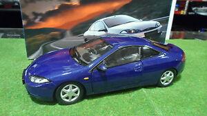 FORD-COUGAR-bleu-metal-echelle-1-18-fabri-ACTION-voiture-miniature-de-collection