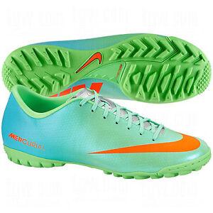 1860e8c7f Nike Mercurial Victory IV TF Turf Soccer SHOES 2013 Lime Green ...