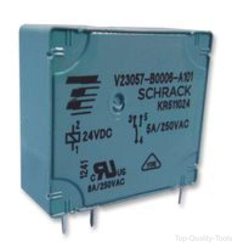 24VDC TE Connectivity PCB Relè V V23057-B0006-A101