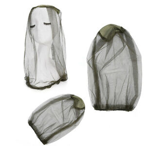 Insect-Mosquito-Net-Mesh-Face-Fishing-Hunting-Outdoors-Camps-Hat-Protector-CapQQ
