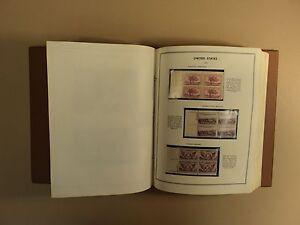USPS Plate Block Harris Album 325 Plus Items 1934 to 1963 Commeratives