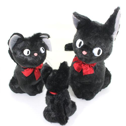 Action- & Spielfiguren 4/8/11'' Ghibli KIKI'S DELIVERY SERVICE JIJI Black Cat Plush Kids Toy Gift