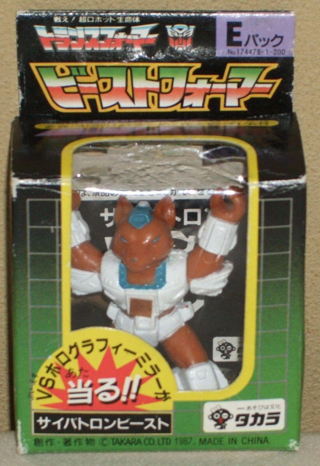 Transformers Cybertron Bestia E-Pack se-Fox 5cm 2 Figuras Muñecas Takara 2018 Rara