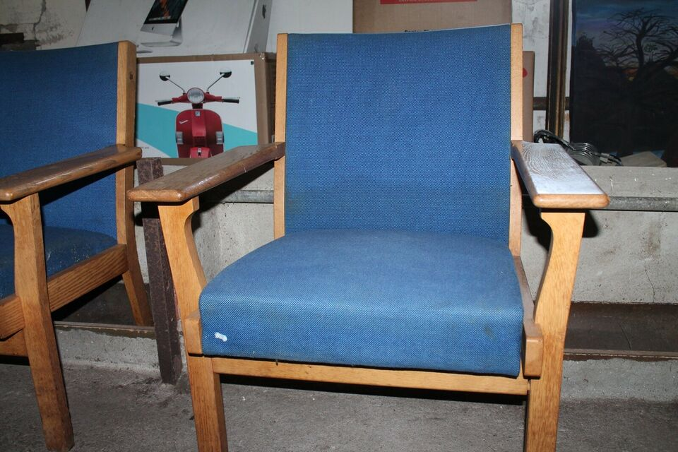 Hans J. Wegner, GE-181, 2 lænestole