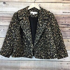 Emerson-Rose-Open-Front-Blazer-Medium-Leopard-Print-NWT