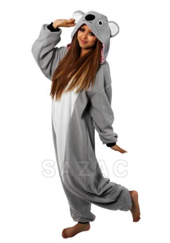 Kigurumi Sazac du Japon Koala Cosplay Pyjama Onesie fête costume mardi gras