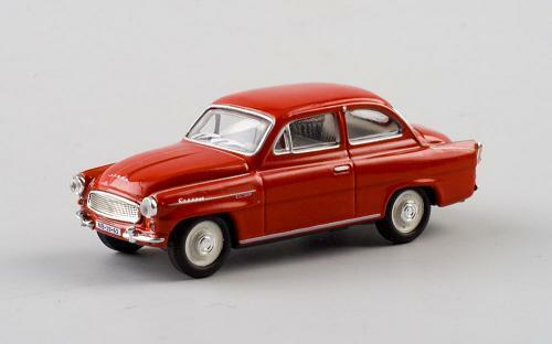 Skoda 1964 Octavia Coupe red rojo 171abd704k 1//72 Abrex maqueta de coche modelo coche