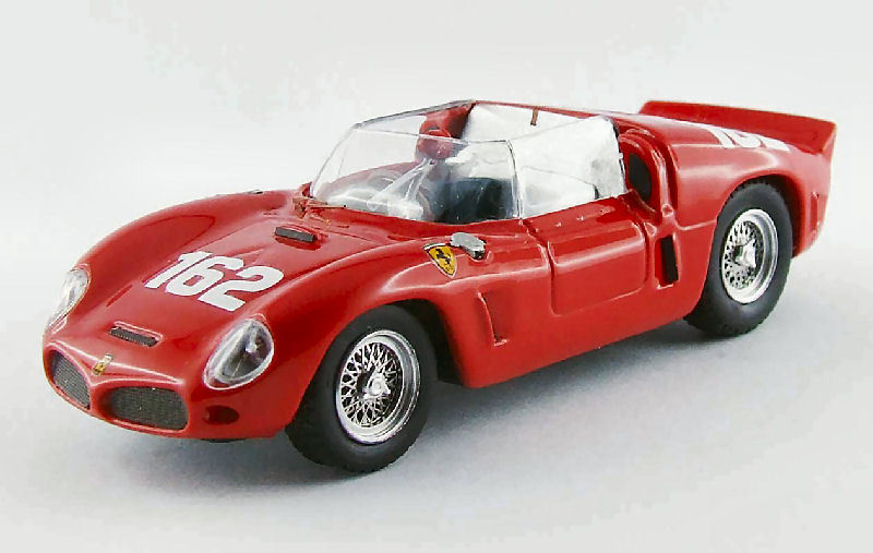 Ferrari Dino 246 sp winner Targa Florio 1961 de trips gendebien 1 43 Model