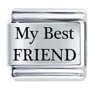 MY BEST FRIEND   Daisy Charm Fits Nomination Classic Size Italian ... 1eef3438b