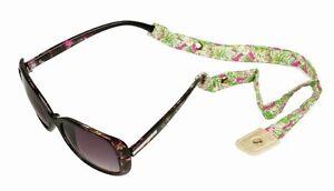 ea7dfe08fe Image is loading LILLY-PULITZER-Sunglasses-Strap-ELEPHANT-EARS-Cotton- Sunglass-