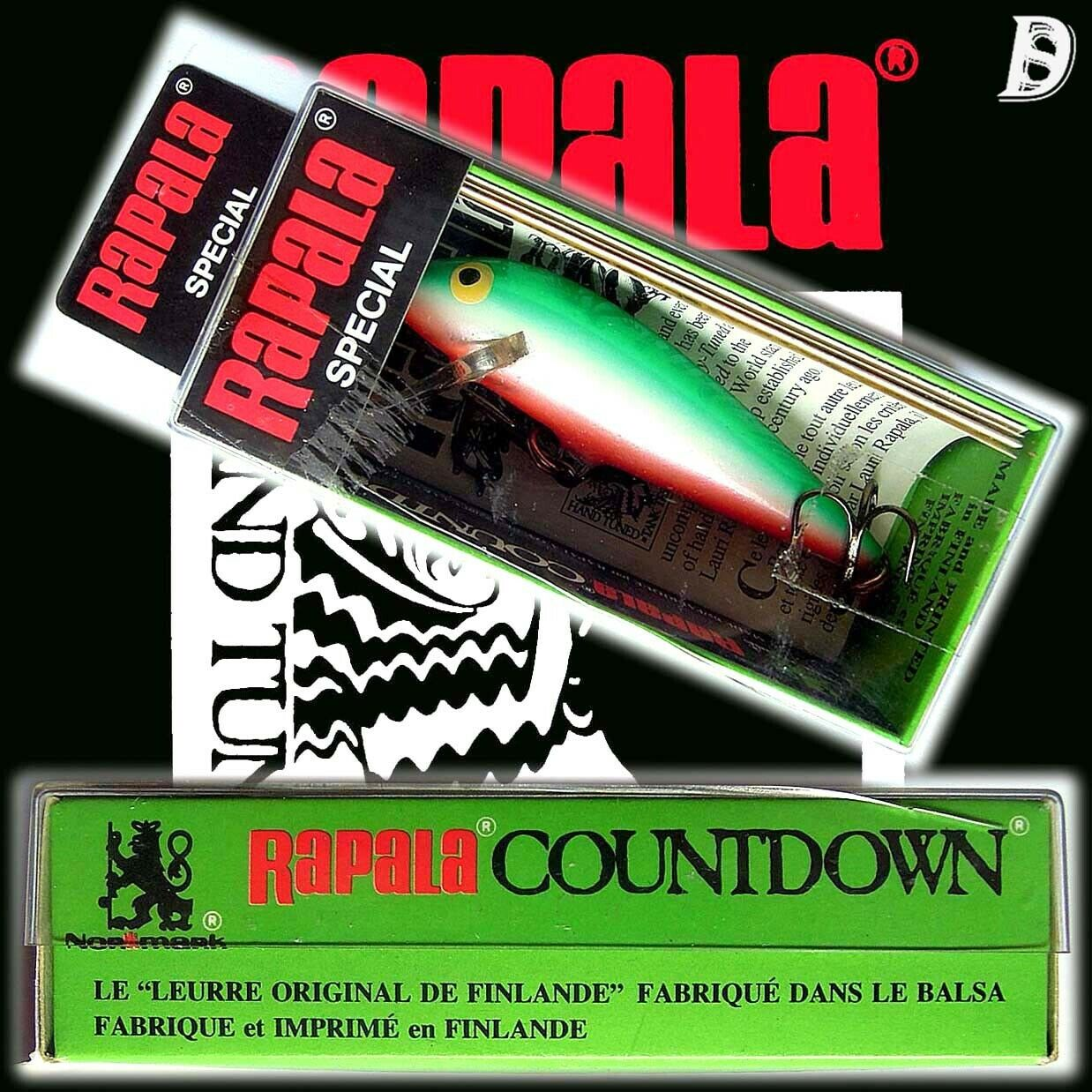 Vintage Rapala Countdown 7cm  Special Neu in Box Made in Finnland extrem selten  store online