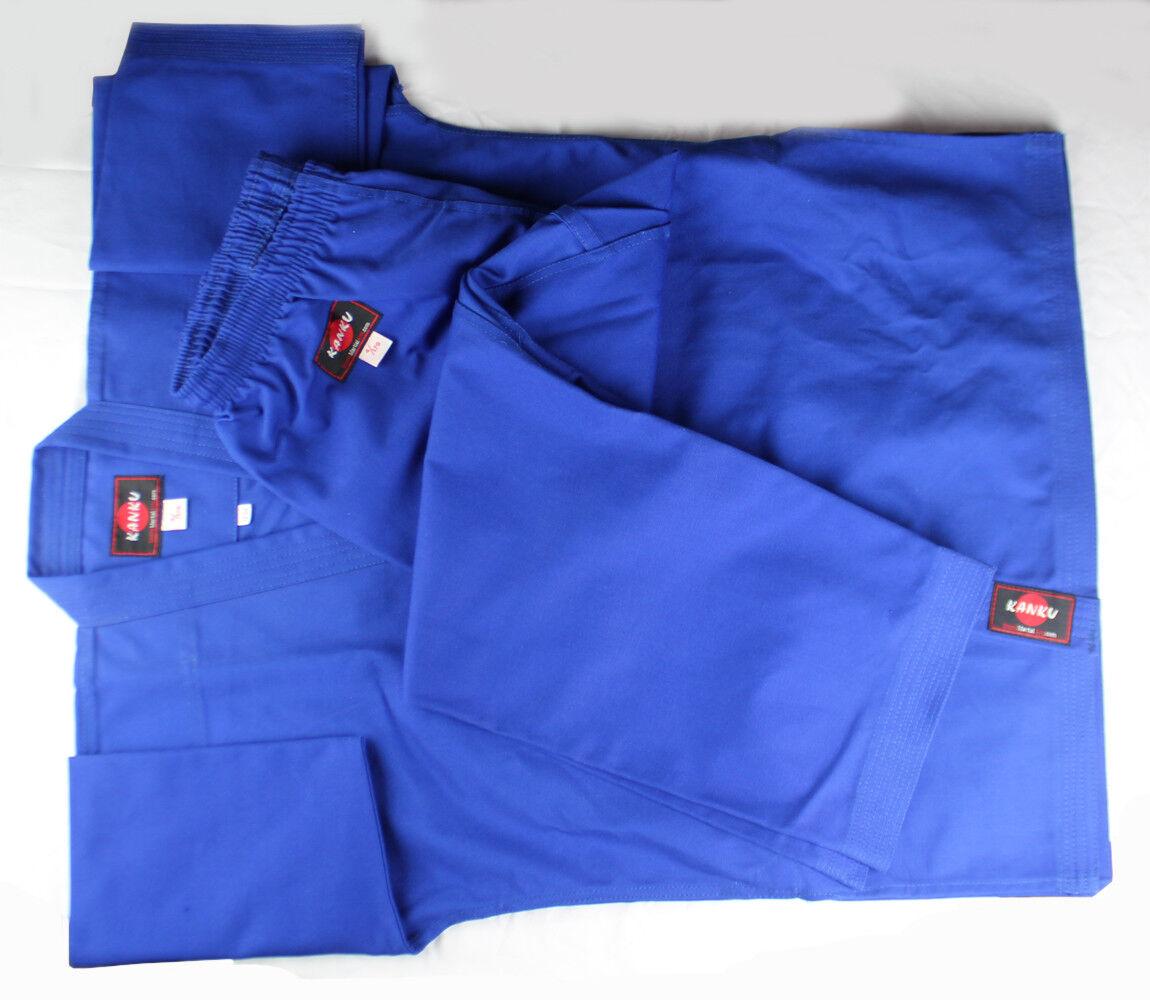 KANKU New bluee Karate Uniform 12 oz Heavy Weight  Martial Arts  new products novelty items
