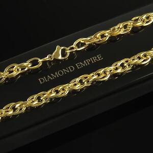 da7fc437ad72 Collar 6mm Auténtico 999 bañado en oro 24 Quilates Amarillo Mujer ...
