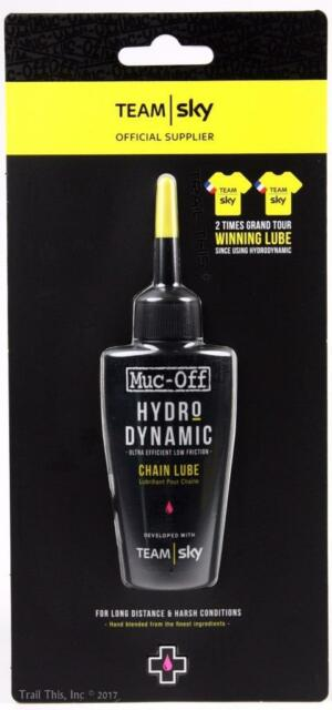 d46492777 Muc-Off Hydrodynamic Team Sky Bicycle Chain Lubricant 50ml Lube Road MTB CX