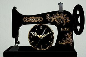 Antique Singer Sewing Machine Personalised Custom Made