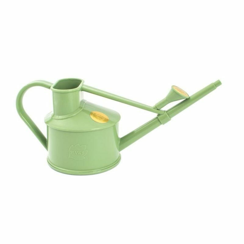 0.7L Haws Handy Indoor House Plant Plastic Watering Can Fine Spray Rose Sage