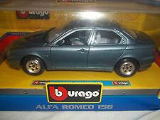 Burago 0108 Alfa Romeo 156 Blue 1/24 Mint & Boxed