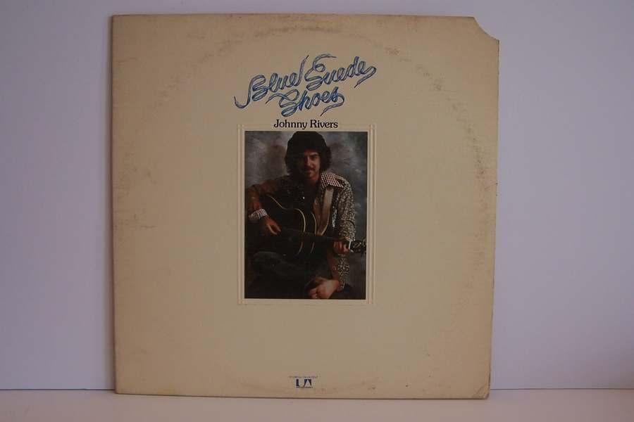 Johnny Rivers - Blue Suede Shoes Vinyl LP Record Album