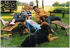 Coupure de presse Clipping 1990 (4 pages) Christophe Dechavanne