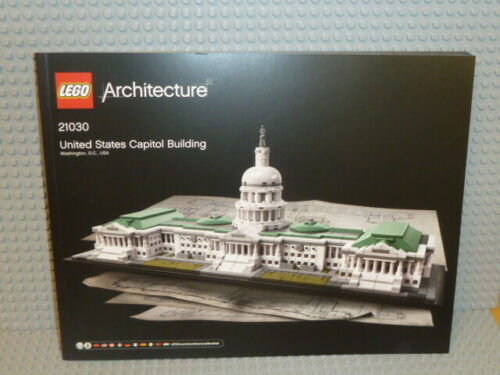 LEGO® Architecture Bauanleitung 21030 United States Capitol instruction B3498
