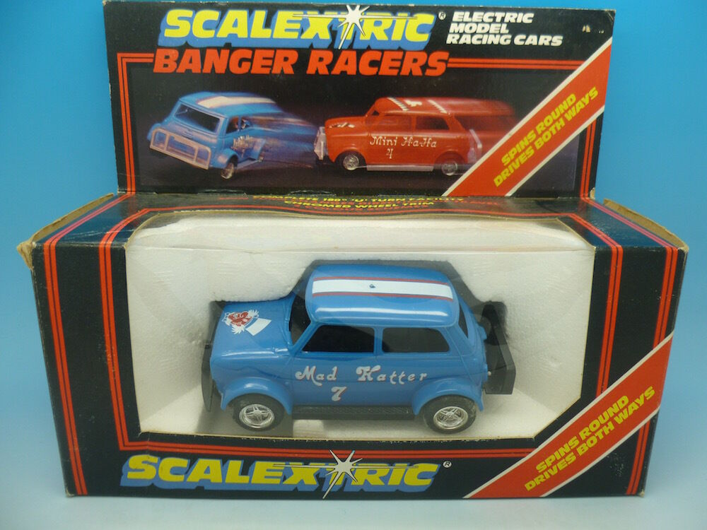 C291 Scalextric Mad Hatter Banger Racer, mint boxed
