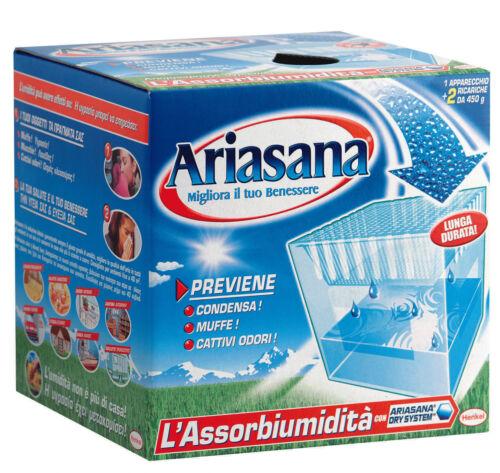 Vaschetta assorbiumidità 5 ricariche  Lavanda e Inodore  ARIASANA HENKEL
