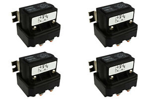 4x temco 250a dc winch motor reversing solenoid relay. Black Bedroom Furniture Sets. Home Design Ideas