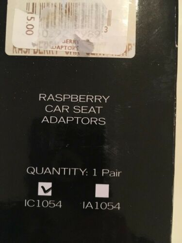 I Cand Raspsberry Car Seat Adapters For Maxi Cosi Free Post