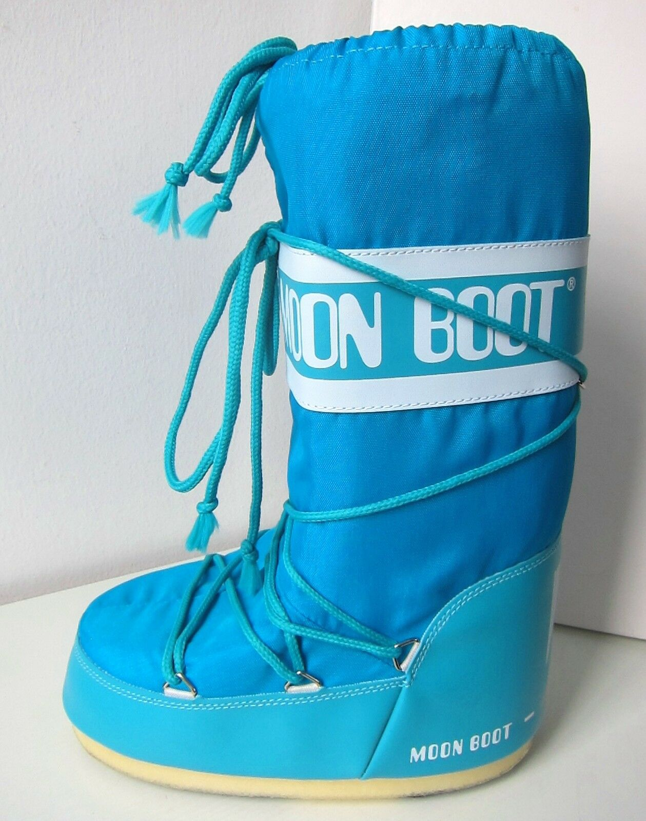 Zapatos especiales con descuento Tecnica MOON BOOT Nylon türkis Gr. 31 - 34 Moon Boots Moonboots turquoise