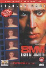 8MM - Nicolas Cage, Joaquin Phoenix, James Gandolfini, Peter Stormare (DVD 1999)