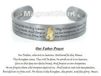 Praying Hands Silver Plated Magnetic Solid Copper Bangle Bracelet Cuff Jewelry