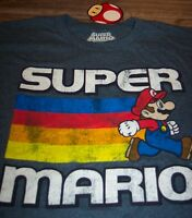 Vintage Style Super Mario Bros. Nes Nintendo T-shirt Medium W/ Tag