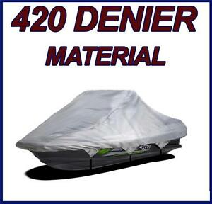 420 DENIER Sea Doo Bombardier GTS Jet Ski Cover Gray 1990 1991 92 93 94 -00