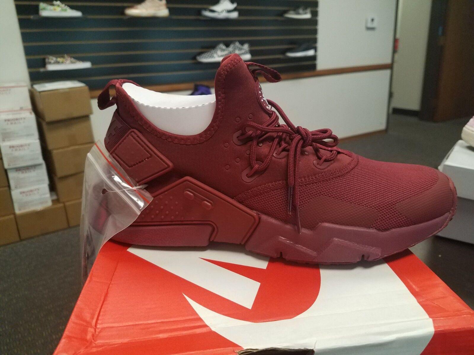 Brand New in Box Men's Nike Air Huarache Drift Running shoes AH7334-600 TEAM RED