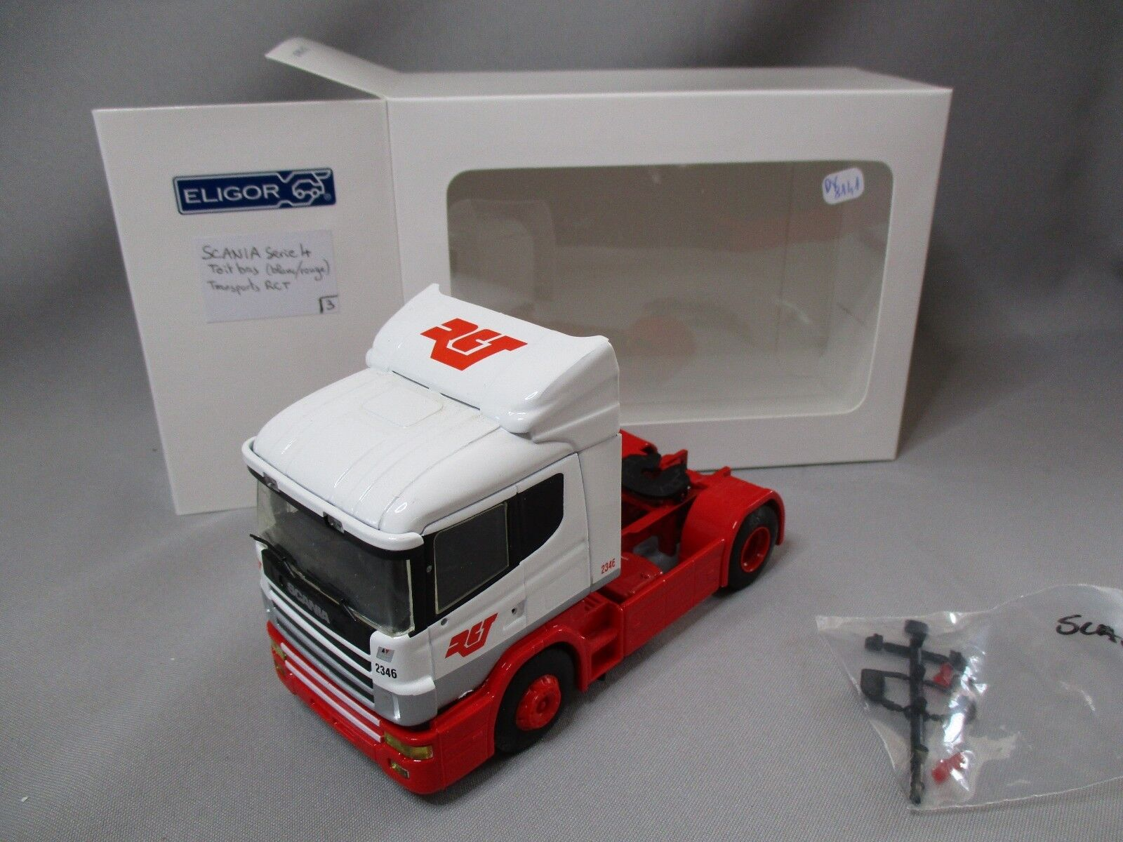 DV8141 ELIGOR 1 43 TRACTEUR SCANIA SERIE 4 TRANSPORTS RCT