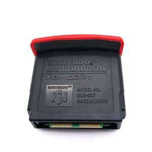 Nintendo 64 Memory Expansion Pack Pak NUS-007 OEM N64 Japan Model