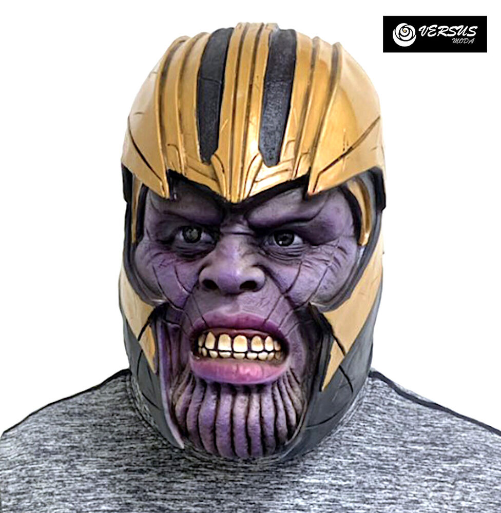 Belle Simile Thanos Testa Maschera Carnevale Avengers Bambino Uomo Cosplay Thanhe5 Haute RéSilience