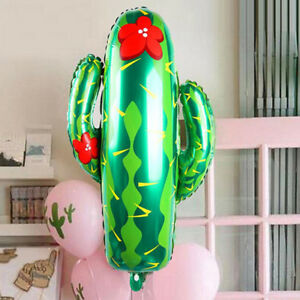 76cm-Cactus-Plant-Foil-Helium-Balloon-Mexican-Western-Wild-West-Party-Decoration