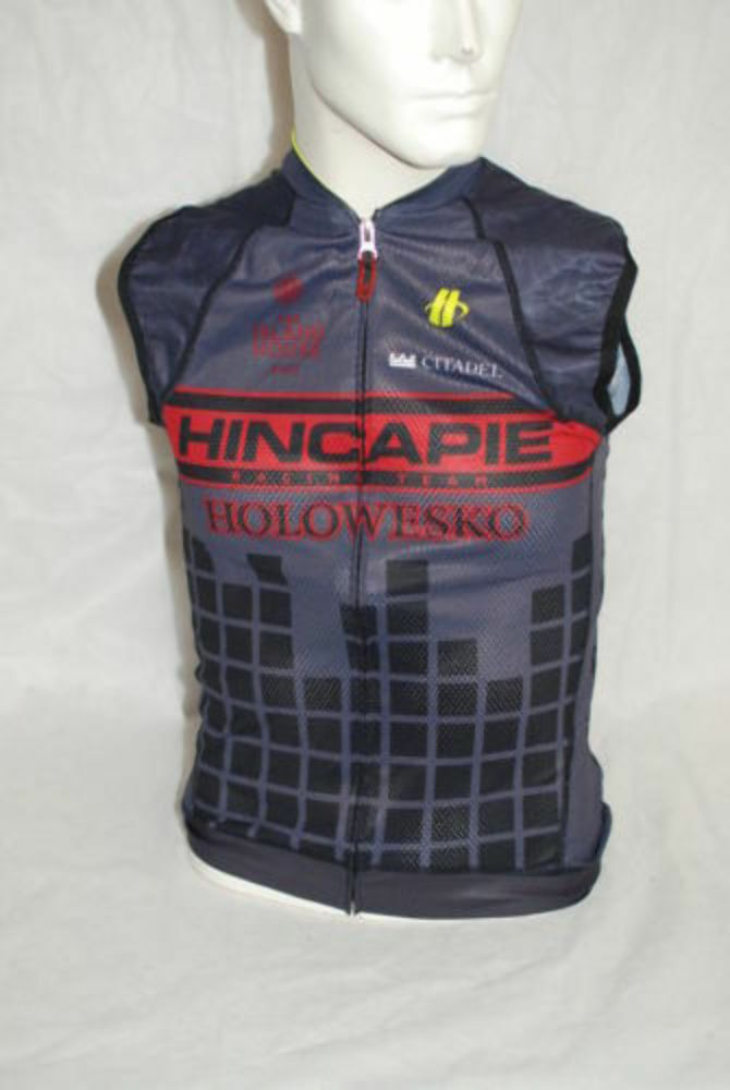 Hincapie Pro Cycling Team Max Sleeveless Jersey Mens XS NEW