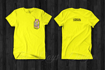 Marent Codde Lyrical Shirt Lemonade LyricalLemonade Merch Long Sleeve T-Shirt Black