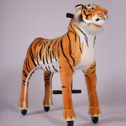 Wellini Reittier Tiger Gr Inline riding Animal mechanisches Reittier S