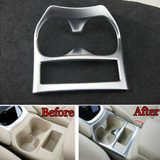 Car Center Console Cup Holder Cover Molding Trim For Nissan X-Trail Rogue 14-16