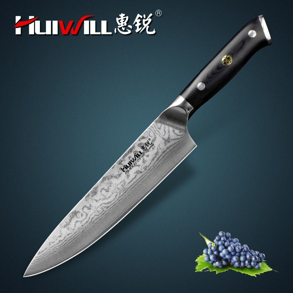 Forged Chef Cleaver Handmade Professional Boning Knife Split Meat Butcher Sushi
