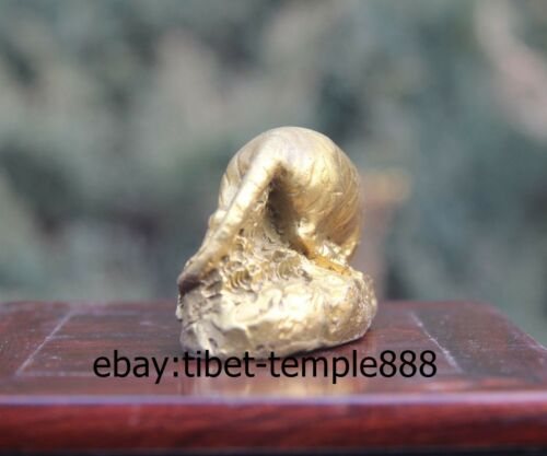 Details about  /4 CM Chinese Zodiac Animal Brass Copper Tiger Wealth Fengshui Beast Statuette
