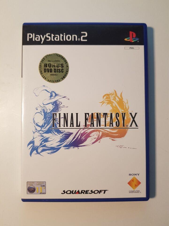 Final Fantasy X, PS2