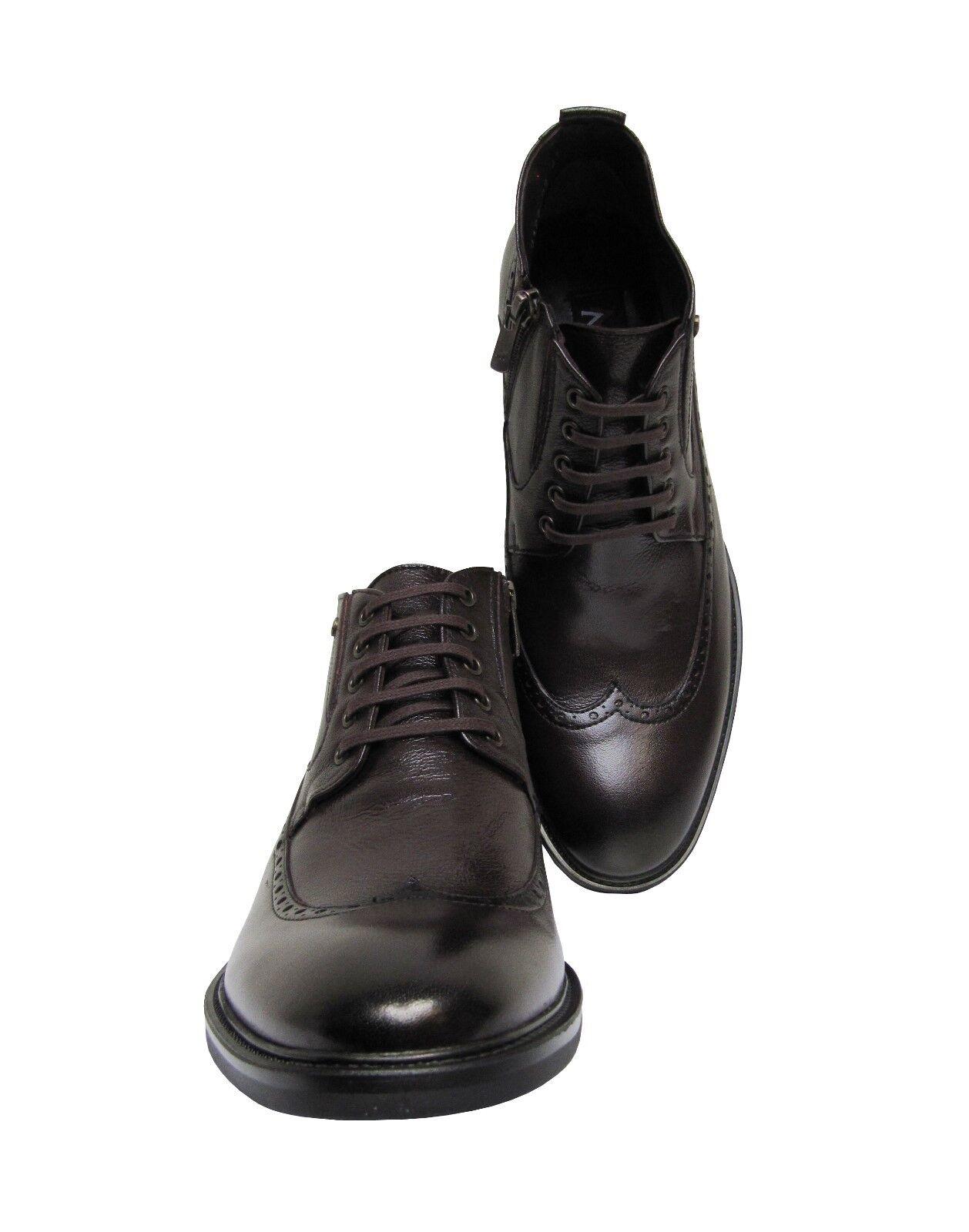 Billig gute Qualität Herren Stiefeletten Leder Muga1280Gr.41 Braun