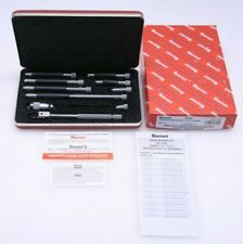 Starrett No 823bz 823 1 12 12 001 Tubular Inside Micrometer Set New
