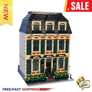 MOC-10702-Tan-Townhouse-3636-PCS-Good-Quality-Bricks-Building-Blocks