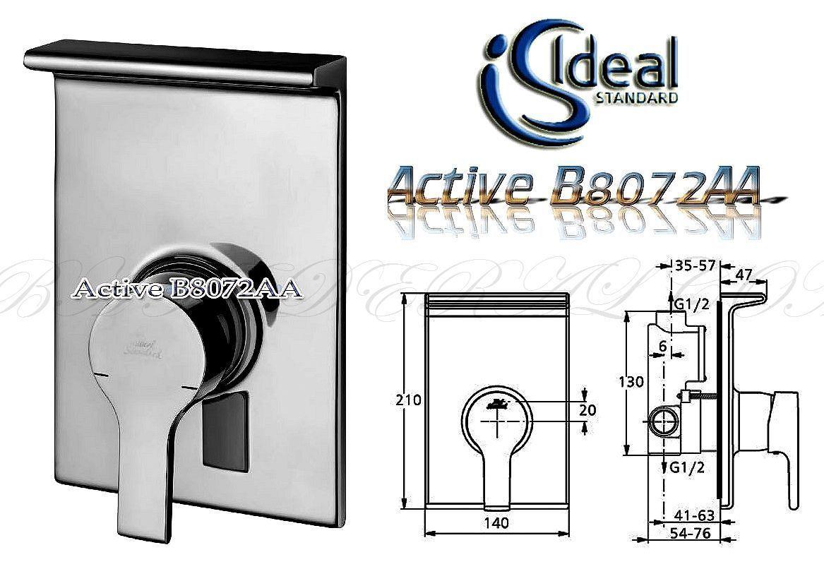 IDEAL Standard B8072AA ACTIVE Duscharmatur UP Set Einhandmischer unterputz 31 | Schenken Sie Ihrem Kind eine glückliche Kindheit  | Qualität und Quantität garantiert  | Ruf zuerst  | Online